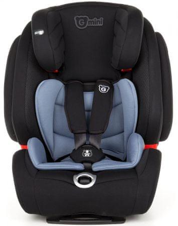 G-mini fotelik samochodowy Tutus 123 Isofix, Steel blue