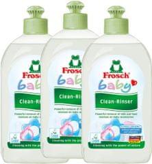 Frosch EKO Tisztítószer cumisüveghez és cumihoz, 3 x 500 ml