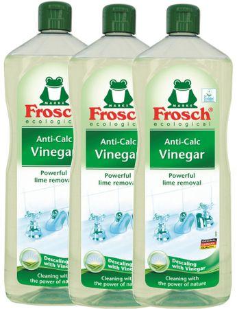 Frosch Eko Vízkőoldó, Ecetes, 3 x 1 l