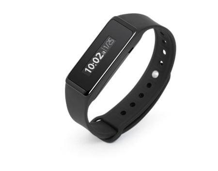 Technaxx fitnesz karkötő Touch, vízálló, Bluetooth 4.0, Android/iOS, fekete (TX-72)
