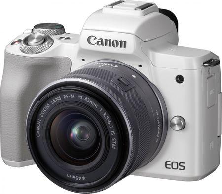CANON EOS M50 + 15-45 White (2681C012) fényképezőgép