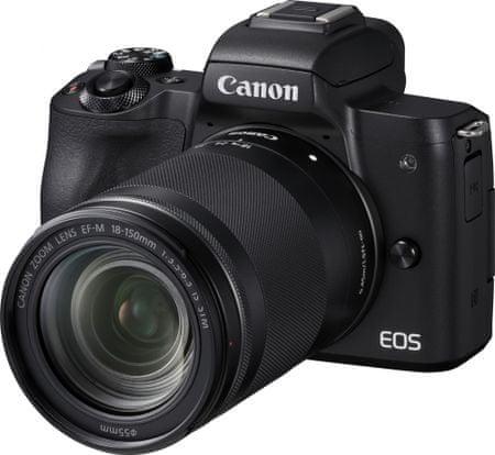 CANON EOS M50 + 18-150 Black (2680C042) fényképezőgép