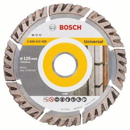BOSCH Gyémánt vágókorong Standard for Universal 125 × 22,23 mm