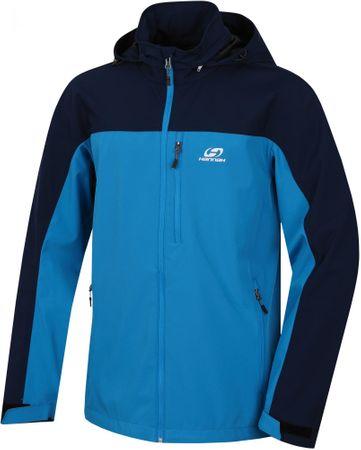 Hannah moška jakna Brolin Lite Black Iris/Methyl Blue, črno-modra, L