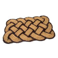 FLOMA Kokosová vstupní rohož Jumbo Rectangle Brown - 75 x 45 x 3,5 cm
