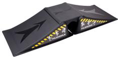 Hudora rampa za skateboard, 3-delna
