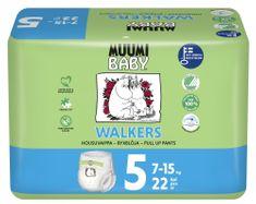 MUUMI BABY pieluchy Walkers 5 Maxi+ (7-15 kg) 22 szt