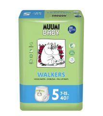 MUUMI BABY Walkers 5 Maxi+ Pelenka (7-15 kg) 40 db
