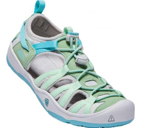 KEEN Moxie Sandal JR Quiet Green/Aqua Sea US 1 (32/33 EU) gyermek szandál