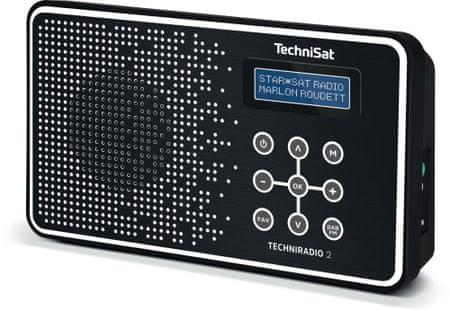 Technisat TECHNIRADIO 2, černá/bílá