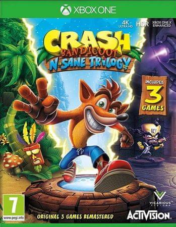Activision Crash Bandicoot N.Sane trilogija (Xbox One)