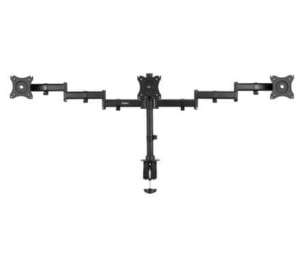 VonHaus nosilec za tri monitorje, do 68,58 cm