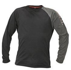 8e6da4b3ab70 Assent Bavlnené tričko s dlhým rukávom Moros čierna M