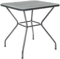 Happy Green Stůl, ocelový, čtvercový MAINE 70 x 70 cm - zánovní