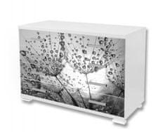 Dimex Nálepky na nábytok - Púpava s rosou, 85 x 125 cm
