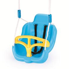 DOLU Műanyag hinta kötéllel, Kék