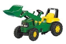 Rolly Toys pedalni traktor Rolly Junior John Deere s sprednjim nakladalnikom
