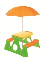 Paradiso stół piknikowy z parasolem