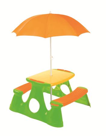 Paradiso piknik miza s senčnikom