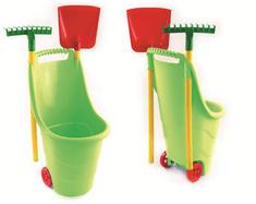 Paradiso wózek ogrodowy z narzędziami