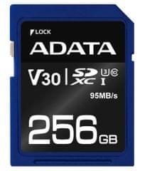 A-Data karta pamięci Premier Pro SDXC 256GB (ASDX256GUI3V30S-R)