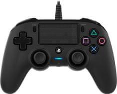 Nacon Wired Compact Controller / PS4, čierny (ps4hwnaconwccb)