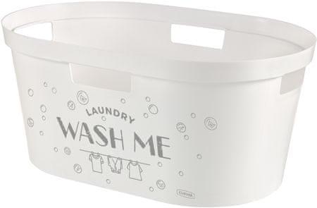 Curver košara za čisto perilo Infinity Wash Me, 39 l