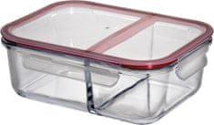 Obědový box s přepážkou, L