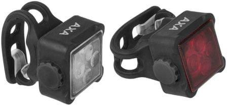 AXA Niteline 44-R első és hátsó villogó szett
