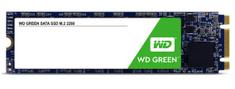 WD Green SSD 240 GB, 3D NAND M.2 2280, SATA3 6 Gb/s