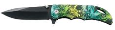 Ausonia žepni nož iz nerjavečega jekla (26563)