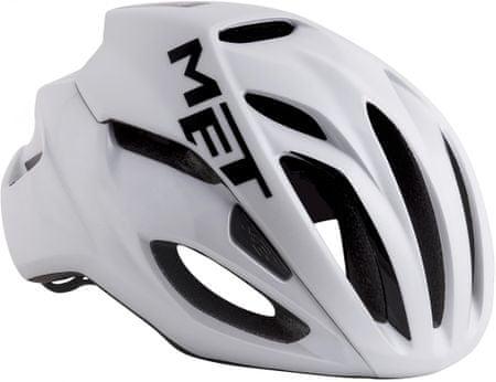 MET kask rowerowy Rivale White M (54-58 cm)