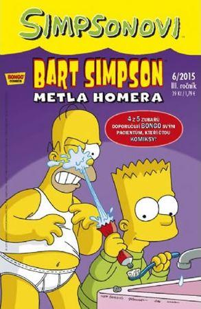 Groening Matt: Simpsonovi - Bart Simpson 06/15 - Metla Homera