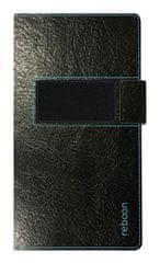 Reboon univerzalna torbica Booncover XS, črna, usnjena