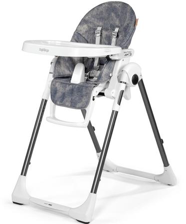 Peg Perego Prima Pappa ZERO3 stolček za hranjenje, Denim
