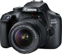 Canon lustrzanka cyfrowa EOS 4000D + obiektyw 18-55 DC III Value Up Kit (3011C013)
