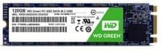 WD SSD disk Green 120 GB, M.2 2280, SATA3