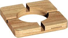 Zassenhaus Stojanček na hrniec/tablet, svetlé drevo