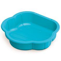 DOLU piaskownica plastikowa Muszla, niebieska