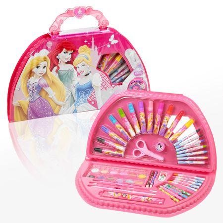 Let's play princeskin kovček za slikanje, 49 delov