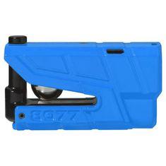 Abus zámok na kotúčovú brzdu s alarmom Granit Detecto X-Plus 8077, modrý