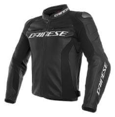 Dainese pánska kožená bunda na motorku RACING 3 čierna