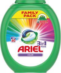 Ariel Color 3u1 gel kapsule, 80 komada