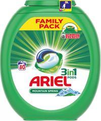 Ariel Mountain Spring 3u1 gel kapsule, 80 komada