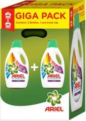 Ariel tekoči detergent Color gel 2 x 2,75 l (100 pranj)