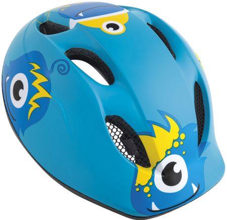 MET Buddy Příšerky/Modrá S/M (46-53 cm)