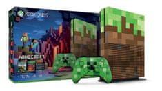 Microsoft igraća konzola Xbox One S, 1TB + Minecraft LE