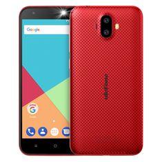Ulefone S7, DualSIM, czerwony