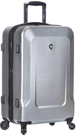 Mia Toro kovček M1535/3-L, srebrn