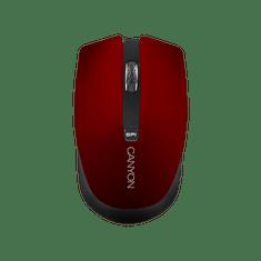 Canyon brezžična optična miška CNS-CMSW5R, 800/1600 dpi, rdeča